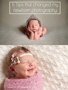 5 Tips that changed my newborn photography