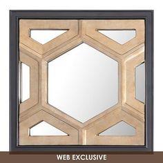 Hexicomb Decorative Mirror, 20x20   Kirkland's - $40