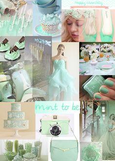 Un mariage dor et vert d eau mariages pinterest for Decoration mariage vert d eau
