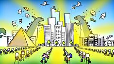 How to Build a Better City - MinuteEarth - Good for teaching about ecology and urban sprawl.