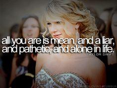 Mean - Taylor Swift