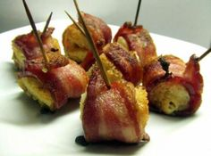 Bacon Wrapped Cream Cheese