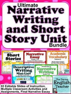 write narrative essays