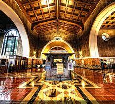 LA's Union Station.