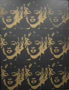 #AndyWarhol Nine Gold #Marilyns Reversal achieves record $9.125 million at Phillips Auction. #art