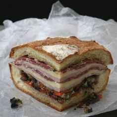 Central Grocery muffaletta