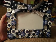 Penn State Photo Frame by TallyTs on Etsy, $25.00