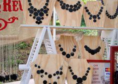 Vinyl Record Necklaces