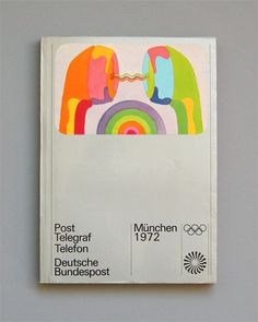 Otl Aicher 1972 Munich Olympics, Brochure