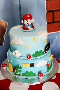 mario party CAKE. Love to have this with our Family Game Night. We do play a lot of Mario!