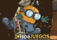 Ayuda a este Minion Minero a encontrar todas las piedras preciosas y los huevos perdidos http://www.ispajuegos.com/jugar8566-Diggy-Misterio-del-centro-de-la-Tierra.html