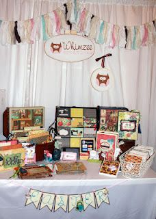 Whimzee Creations Sew Funky craft show booth