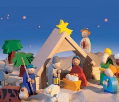 A quick Nativity Play that a youth group could do at a Nursing Home, for Shut-in's, etc.