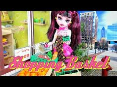 ▶ How to Make a Doll Shopping Basket - YouTube