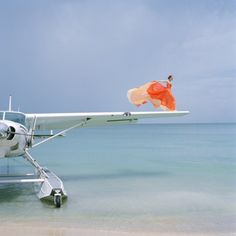 By Rodney Smith.  #color #airplane #composition