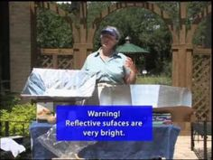 ▶ How to Make a Solar Cooker - YouTube