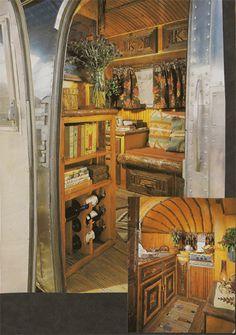 Ralph Lauren Airstream interior