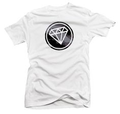 "Mens ""Camo SWAG Diamond"" Vinyl Graphic T Shirt. Availible in White, Small-XXXL"