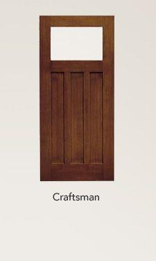 Doors and doorways on pinterest entry doors craftsman for Craftsman dutch door