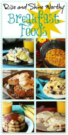 Over 30 Breakfast Ideas! YUM! #breakfast