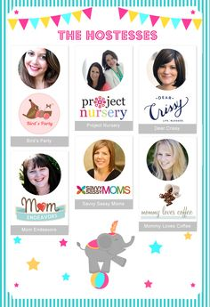 TONIGHT!!! Join us on Wednesday, April 23rd at 6pm PDT/9pm EDT for a night of Pinterest fun! We'll be pinning for one hour to a collaborative design board and filling it with creative, colorful and out-of-this-world party ideas!