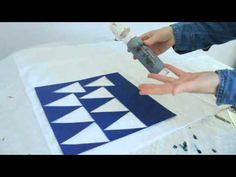 Brother Scan N Cut Creating custom Fabric - YouTube