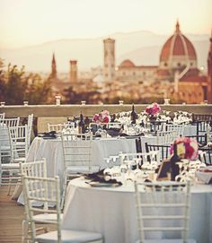 A Wedding Overlooking the Duomo in Florence, Italy