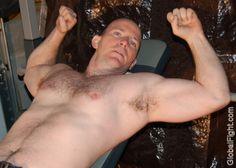 Gary musclecub flexing GLOBALFIGHT PROFILES