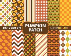 Win Pumpkin Patch Digital Papers!! Enter for your chance to win 1 of 10.  Digital Scrapbooking Printable Paper Pattern Pack Pumpkin Patch (12 pages) from Sonya DeHart Design on TeachersNotebook.com (Ends on on 10-31-2014)  Set of pumpkin patch digital papers. 12x12 300 DPI