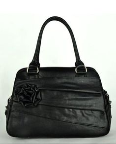 Rose in Black Camera Bag