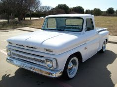 1966 Chevrolet C-10 Pick-Up~ my grandpa had a red '66...wish I'd been old enough to buy that truck.. my first straight shift