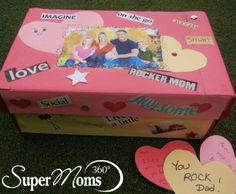 Fabulous Family Box - Why wait until Valentine's Day to let your family know how much you care. This easy-to-make craft can be personalized to match your own style. Each family member can put secret notes in all month long! Tag: Valentines Day Crafts For Kids | Easy Valentines Day Crafts for Kids