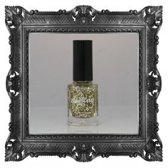24K - Quite literally, the gold standard. Accept no imitations. (Clear base with gold hex & microglitter.) $20.95