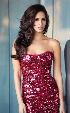 Sequined Evening Dress....Love <3