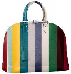 The Rainbow of Louis Vuitton Epi Leather Colors