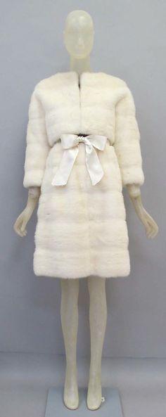 Cristobal Balenciaga (Spanish, 1895–1972). Mink suit, 1967. What a dream.