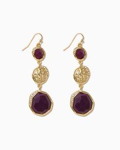 Turn the Corner Dangle Earrings   UPC: 450900430962 #charmingcharlie #COTM