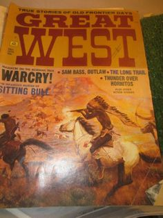 Vintage December 1972 Great West Magazine Massacre by kookykitsch, $18.00
