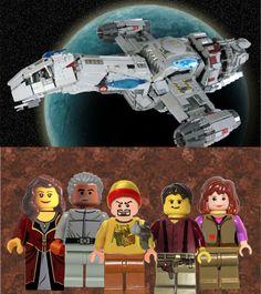 Oooo this I LOVE! #Firefly #lego set!!!