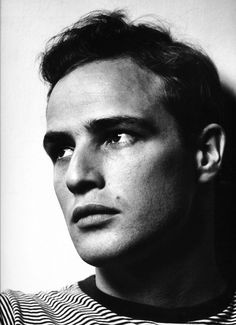 Philippe Halsman: Marlon Brando, New York City, 1950.