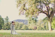 Outdoor Napa Valley wedding
