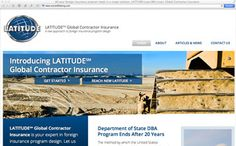 A major insurance company gets a new website for a new division
