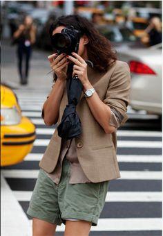 Garance Dore- shorts + blazer