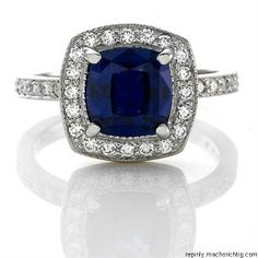 sapphire ring - kids birthstone