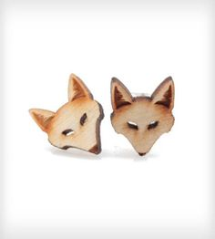 Fox Stud Earrings | Women's Jewelry | Vinca | Scoutmob Shoppe | Product Detail