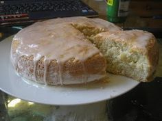My lemon poppy seed cake inspired by a weight watchers recipe (4.6.11)