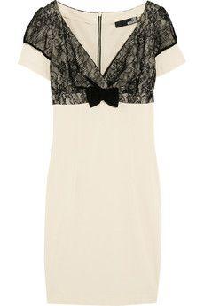 Love Moschino dress | More here: http://mylusciouslife.com/wishlist-cream-white-and-beige-dresses/