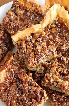Pecan pie in a bite