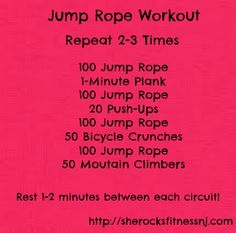 Jump Rope Workout   What I Ate Wednesday!