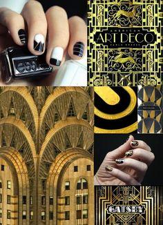 Art Deco Nail Inspiration